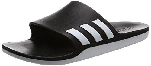 adidas Aqualette Cloudfoam, Unisex-Erwachsene Flip-Flops, Mehrfarbig(Core Black/Footwear White/Core Black), 42 EU (8 UK)