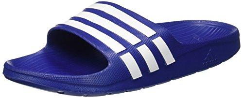 adidas Duramo Slide Herren Dusch & Badeschuhe, Blau (New Navy/White/New Navy), 37 EU