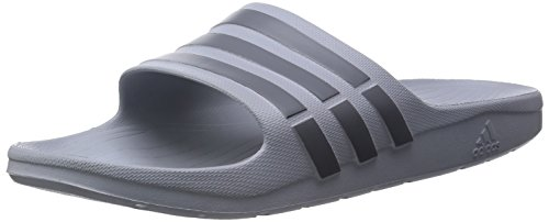 adidas Duramo Slide, Unisex-Erwachsene Dusch & Badeschuhe, Grau (Clear Onix/Grey/Clear Onix), 42 EU (8 UK)