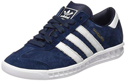 adidas Hamburg Herren Laufschuhe, Blau (Collegiate Navy/Ftwr White/Gold Met), 44 EU