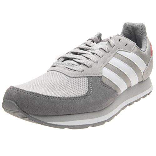 adidas Herren 8K Gymnastikschuhe, Grau (Grey Two F17/Ftwr White/Grey Three F17), 42 2/3 EU