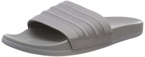 adidas Herren Adilette CF+ Mono Badeschuhe, Grau (Grey Three/Grey Three/Grey Three), 40.5 EU