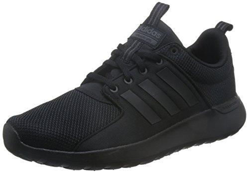 adidas Herren CF Lite Racer Laufschuhe, Mehrfarbig (Core Black/Core Black/Utility Black F16), 43 1/3 EU