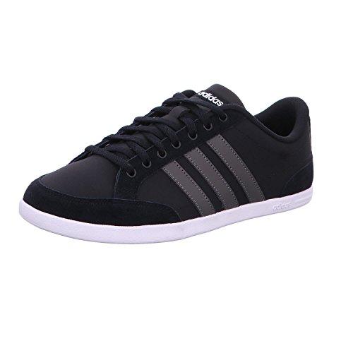 adidas Herren Caflaire Sneaker, Schwarz (Core Black/Cinder/Footwear White), 42 2/3 EU