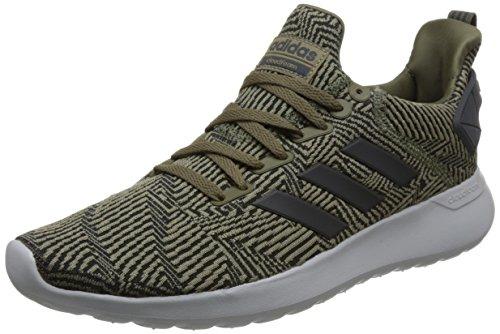 adidas Herren Cloudfoam Lite Racer BYD Gymnastikschuhe, Mehrfarbig (Dark Cargo F14-St/Carbon S18/Core Black), 45 1/3 EU