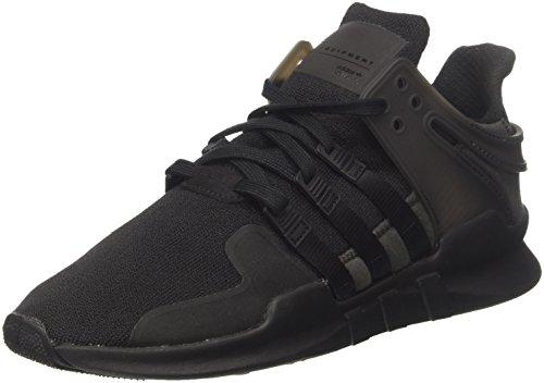 adidas Herren EQT Support ADV Gymnastikschuhe, Schwarz (Core Black/Core Black/Ftwr White), 44 EU