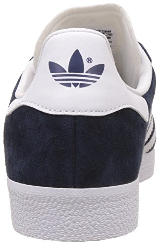 adidas Herren Gazelle Sneakers, Azul (Collegiate Navy/White/Gold Met), 44 2/3