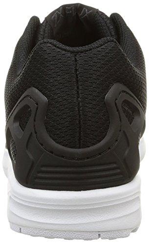 adidas Originals ZX Flux, Herren Sneakers, Schwarz (Core Black/Core Black/White), 43 1/3 EU (9 Herren UK)