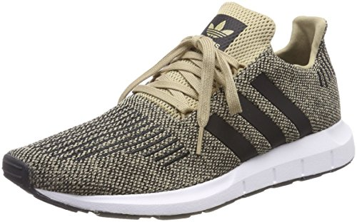 adidas Unisex-Erwachsene Swift Run Sneaker, Mehrfarbig (Raw Gold/Core Black/Ftwr White Cq2117), 43 1/3 EU
