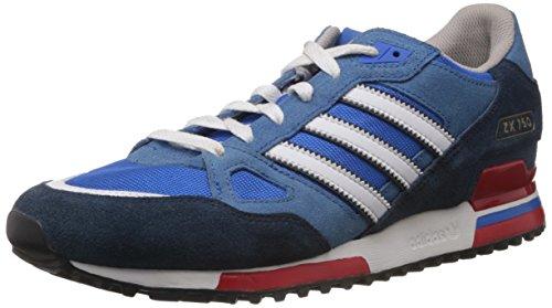 adidas ZX750 G96718, Herren Sneaker, Blau (Bluebird/Running White Ftw/St Dark Slate F13), EU 43 1/3 (UK 9)