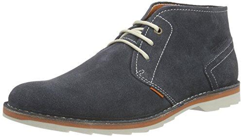 camel active Delta 13, Herren Desert Boots, Blau (indigo), 40.5 EU (7 Herren UK)