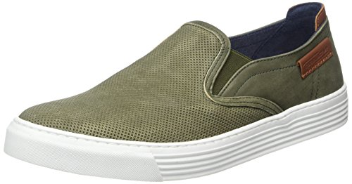 camel active Herren Bowl 18 Slipper, Grün (Army 02), 44.5 EU