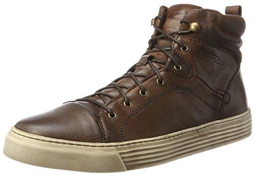camel active Herren Bowl 32 Hohe Sneaker, Braun (Bison/Nut 1), 47 EU