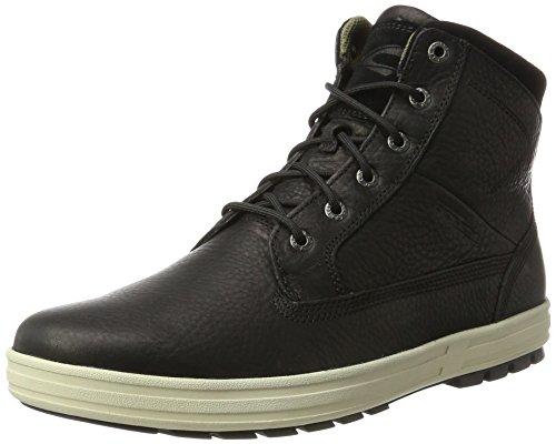 camel active Herren Laponia 11 Hohe Sneaker, Schwarz (Black), 46 EU