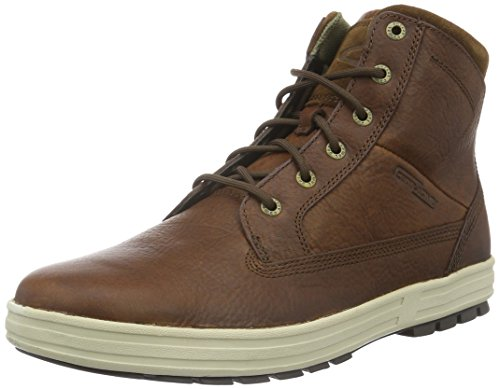 camel active Herren Laponia 11 Low-Top, Braun (Brandy/Tobacco 13), 42.5 EU