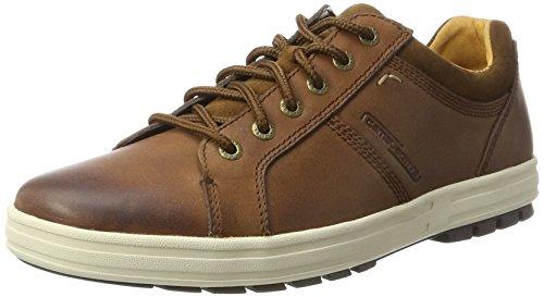 camel active Herren Laponia 13 Sneaker, Braun (Cigar/Tobacco), 46 EU