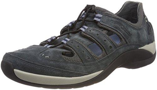 camel active Herren Moonlight 12 Sneaker, Blau (Navy/Grey), 44 EU