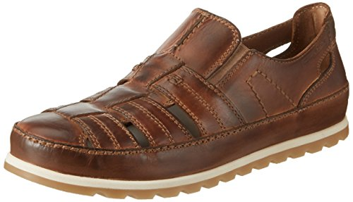 camel active Herren Point 15 Sandalen, Braun (Brandy 02), 39 EU