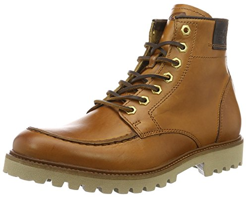 camel active Herren Roots 12 Kurzschaft Stiefel, Braun (Scotch 01), 43 EU
