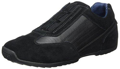 camel active Herren Space 31 Sneaker, Schwarz (Black), 42 EU