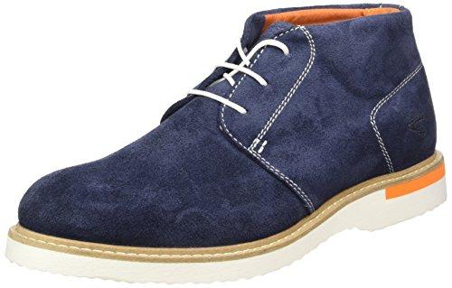 camel active Herren Sunset 12 Desert Boots, Blau (Fjord 01), 46 EU