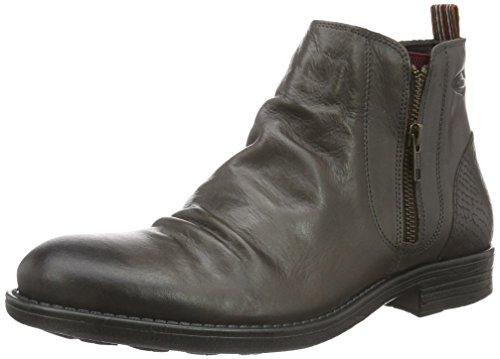 camel active Herren Taylor 13 Biker Boots, Grau (Grey 02), 44 EU