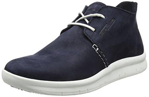 camel active Herren Wave 12 Desert Boots, Blau (Midnight 01), 41 EU