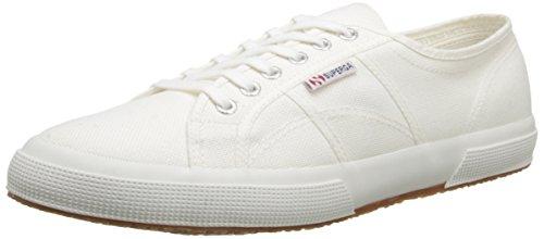 Superga 2750 Cotu Classic Mono, Unisex-Erwachsene Sneaker, Weiß, 45 EU (10.5 UK)
