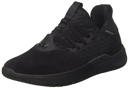 Supra Herren Titanium Sneaker, Schwarz (Black), 44 EU