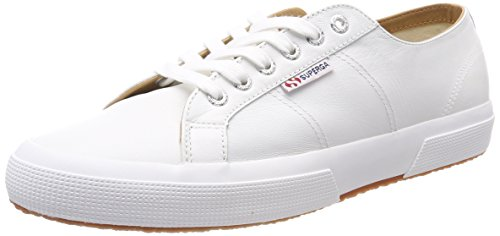 Superga Unisex Erwachsene 2750 Nappaleau Sneaker, White (White), 43 EU