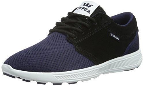 Supra Hammer Run, Unisex-Erwachsene Sneakers, Blau (Navy/Black - White NVB), 43 EU (8.5 Erwachsene UK)