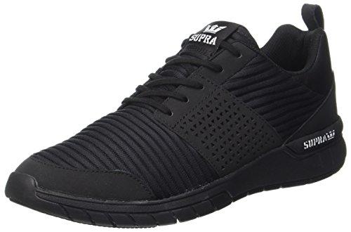 Supra Herren Scissor Sneaker, Schwarz (Black/White-Black), 45 EU