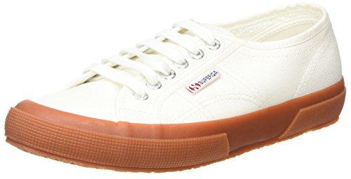 Superga 2750 Classic Sneakers Unisex, Blau (White Gum), 44.5 EU