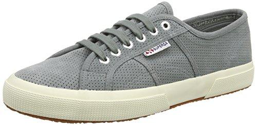 Superga Unisex Erwachsene 2750 Perfsuew Sneaker, Grey (Dark Grey Sage), 44.5 EU
