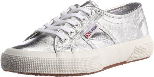 Superga 2750 Cotmetu, Unisex-Erwachsene Sneakers, Silber (031), 39.5 EU (7 Erwachsene UK)