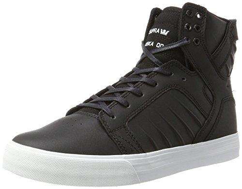 Supra Herren Skytop Evo Sneaker, Schwarz (Black/White), 40 EU