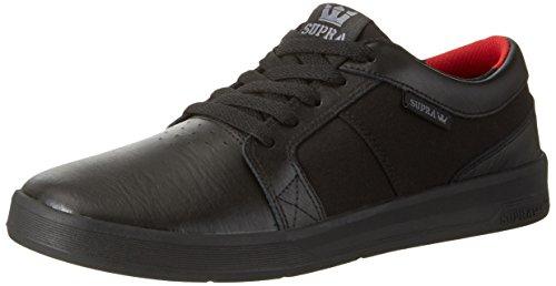 Supra Herren Ineto Sneaker, Schwarz (Black-Black), 43 EU