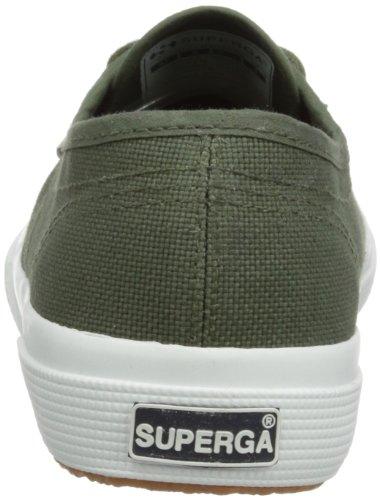 Superga 2750-COTU CLASSIC, Unisex - Erwachsene Sneaker, Grün (Sherwood Green), 43 EU (9 UK)