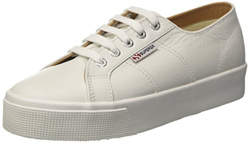 Superga Unisex Erwachsene 2730 Nappaleau Sneaker, White (White), 36 EU
