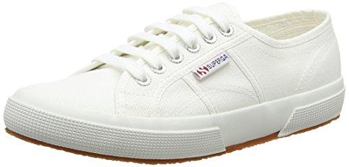 Superga 2750 Cotu Classic Mono, Unisex-Erwachsene Sneaker, Weiß, 44.5 EU (10 UK)