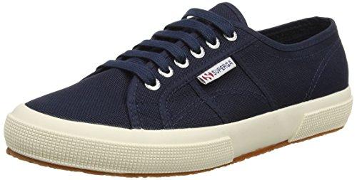 Superga 2750 Cotu Classic, Unisex-Erwachsene Sneaker, Blau (Navy S933), 41.5 EU (7.5 UK)