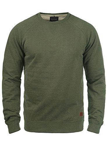 BLEND Alex 20701680ME Sweatshirt, Größe:L;Farbe:Ivy Green (77026)