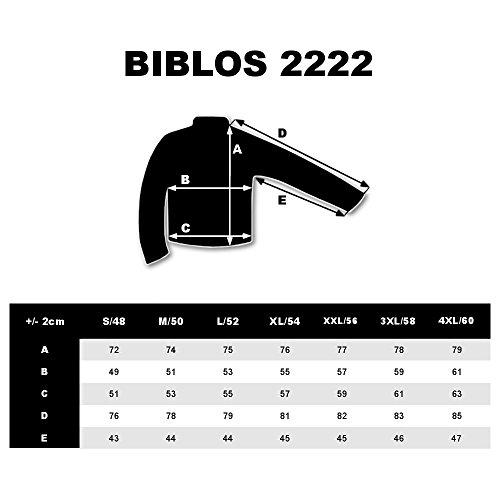 BOLF Herren Sakko mit Dekorative Knöpfe Elegant Slim Fit BIBLOS 2222 Blau-Braun XL/54 [4D4]
