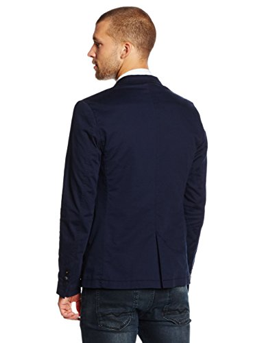 BOSS Orange Herren Jacke Benestretch5-W, Blau (Dark Blue 404), X-Small (Herstellergröße: 46)