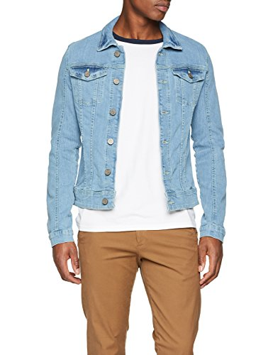 Blend Herren Jacke 20706078, Blau (Denim Lightblue 76200), Medium