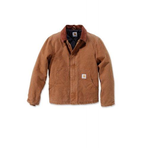 Carhartt Traditionelle Jacke, braun, sandsteinfarben, Größe XL (EJ022.211.S007)