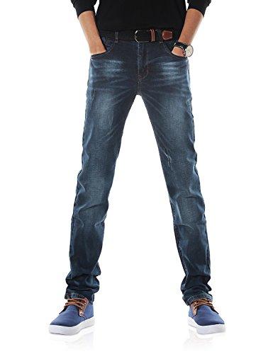Demon&Hunter 817 Serie Herren Elastisch Schlank Fit Jeanshose Jeans DH3033(32)