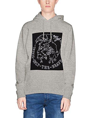 Diesel Herren T-Shirt S-Albert, Grau (912 Grey 0IAEG), XXX-Large