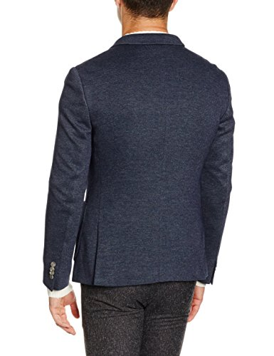 ESPRIT Collection Herren Sakko 096EO2G044, Blau (Navy 400), 54