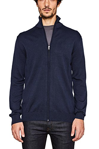 ESPRIT Herren Pullover 997EE2I802, Blau (Navy 400), Small
